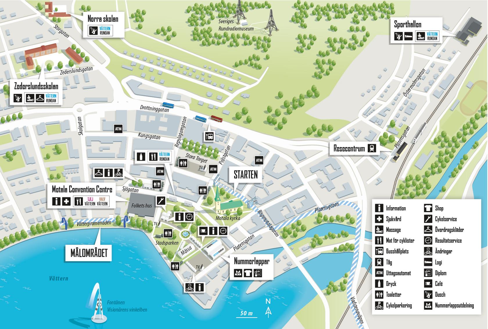 vätternrundan karta Kartor och information inför Vätternrundan vätternrundan karta